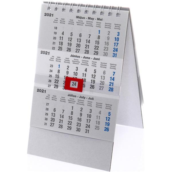 Realsystem 2021-es 6081-00 asztali speditőr naptár - 1