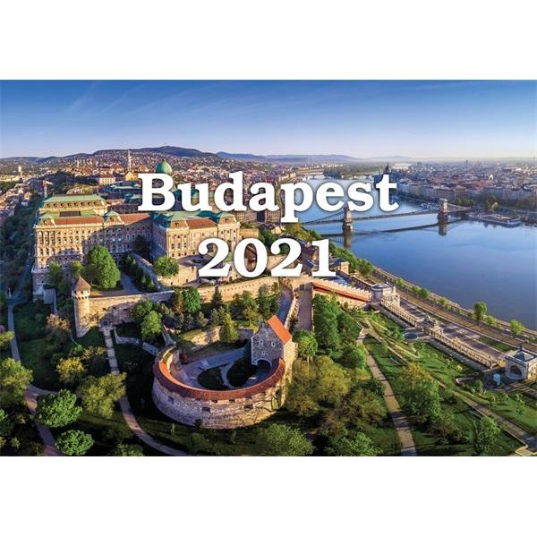 Realsystem 2021-es 6091 Budapest falinaptár - 1