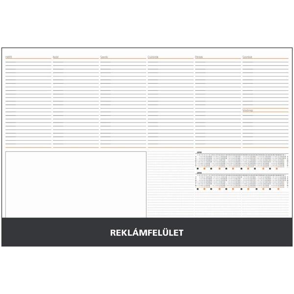 Realsystem 2021-es 7141 fekete asztali könyöklő - 1