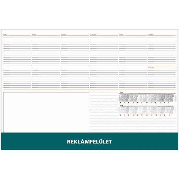 Realsystem 2021-es 7141 zöld asztali könyöklő - 1