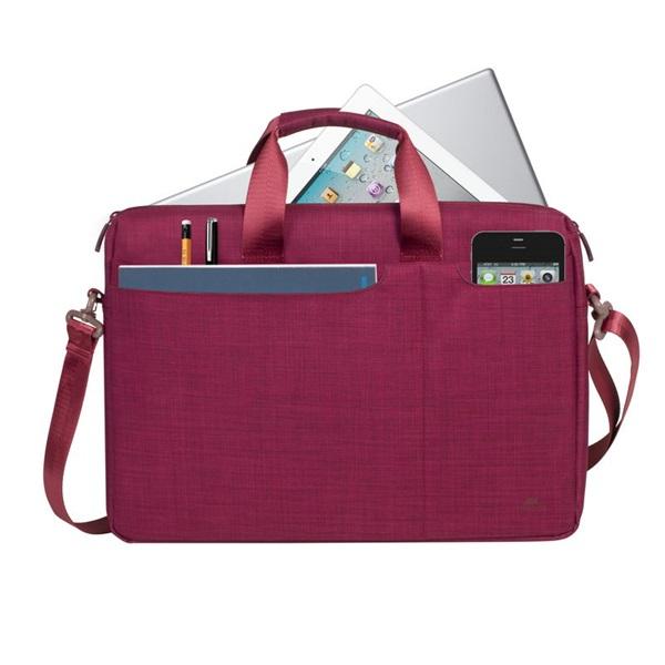 Rivacase 8335 Biscayne 15,6 piros notebook táska - 2