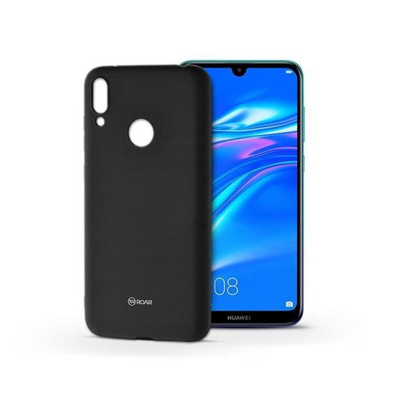 Roar KC0331 Roar All Day Huawei Y7 2019 fekete szilikon tok - 1