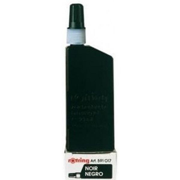 Rotring 23 ml fekete tustinta - 1