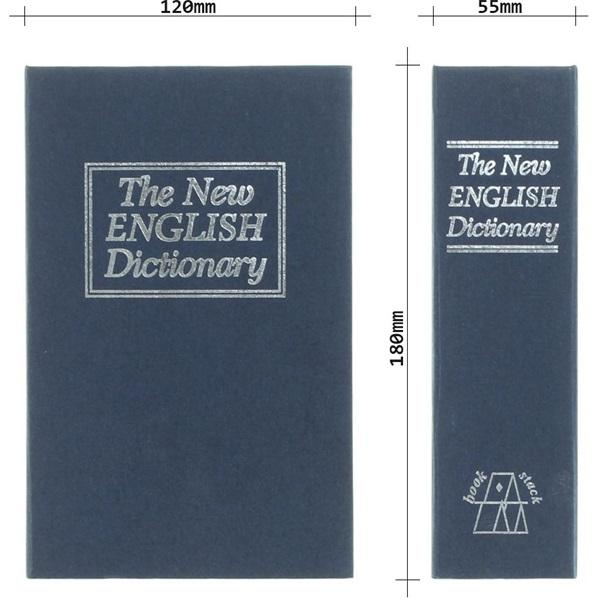 Rottner Book Case kék értéktároló könyv kazetta - 5