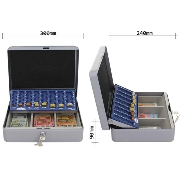 Rottner HomeStar Cash Euro ezüst pénzkazetta - 3