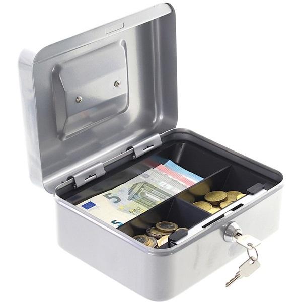 Rottner HomeStar Cash2 ezüst pénzkazetta - 1