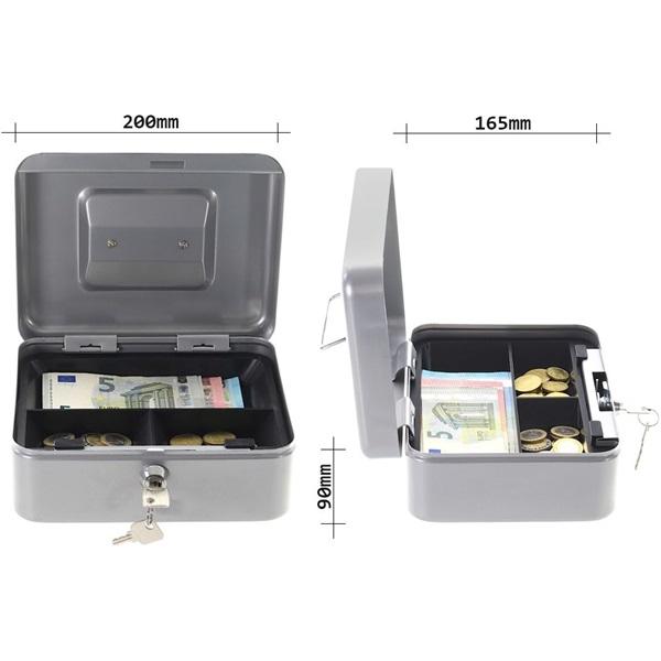 Rottner HomeStar Cash2 ezüst pénzkazetta - 2