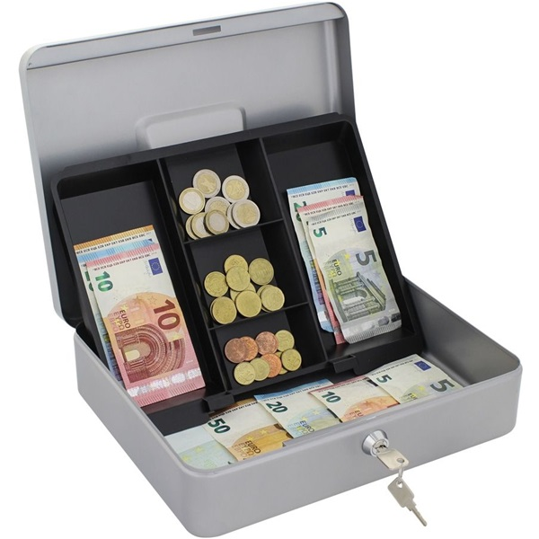 Rottner HomeStar Cash4 ezüst pénzkazetta - 3
