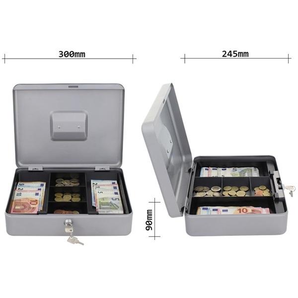 Rottner HomeStar Cash4 ezüst pénzkazetta - 4