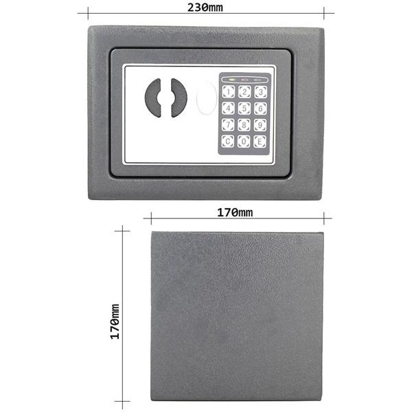 Rottner HomeStar1 EL elektronikus bútorszéf - 4