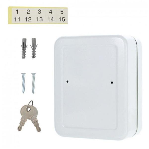 Rottner TS20 szürke kulcstartó szekrény - 6