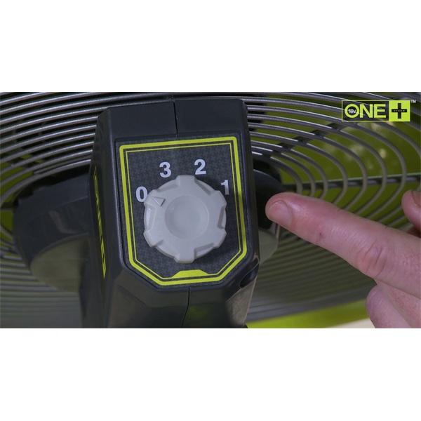 Ryobi R18F5-0 18 V padló ventilátor - 2