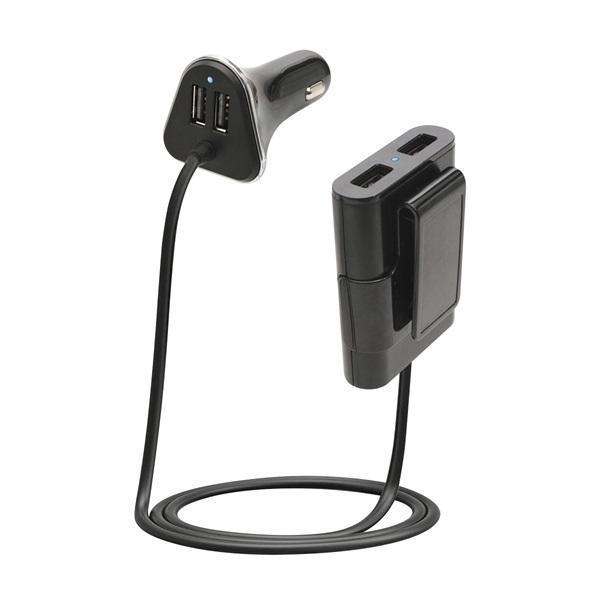 SAL SA 060 2.4A univerzális 4x USB autós gyorstöltő - 1