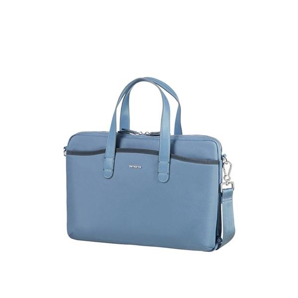 Samsonite NEFTI BAILHANDLE 15.6 holdfény kék/tengerész kék notebook táska - 1