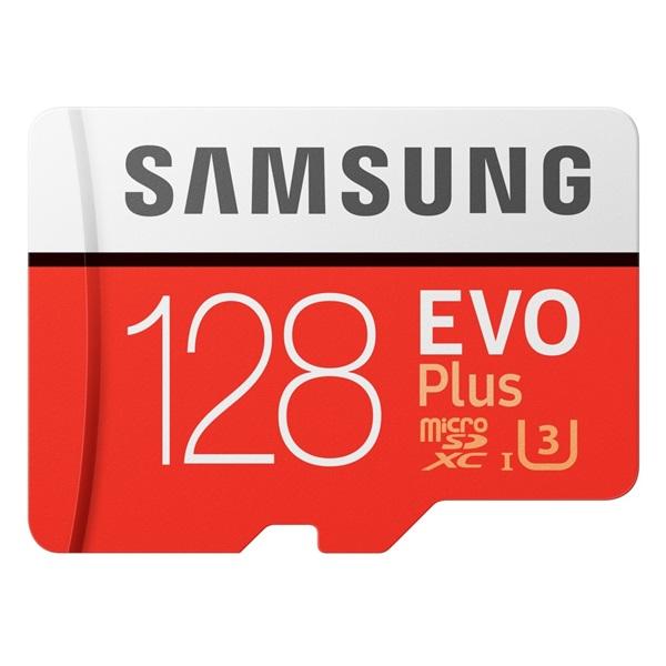 Samsung 128GB SD micro EVO Plus (SDXC Class10) (MB-MC128HA/EU) memória kártya adapterrel - 1