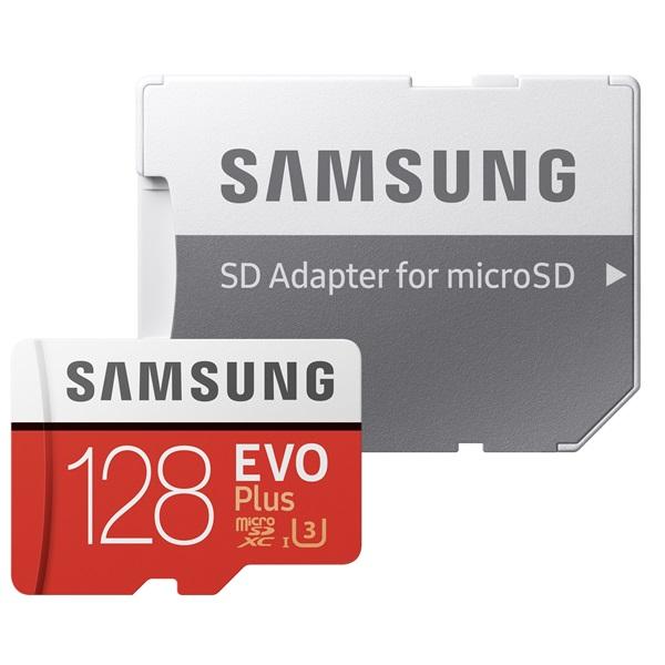 Samsung 128GB SD micro EVO Plus (SDXC Class10) (MB-MC128HA/EU) memória kártya adapterrel - 2