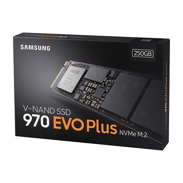 Samsung 250GB NVMe 1.3 M.2 2280 970 EVO Plus (MZ-V7S250BW) SSD - 1