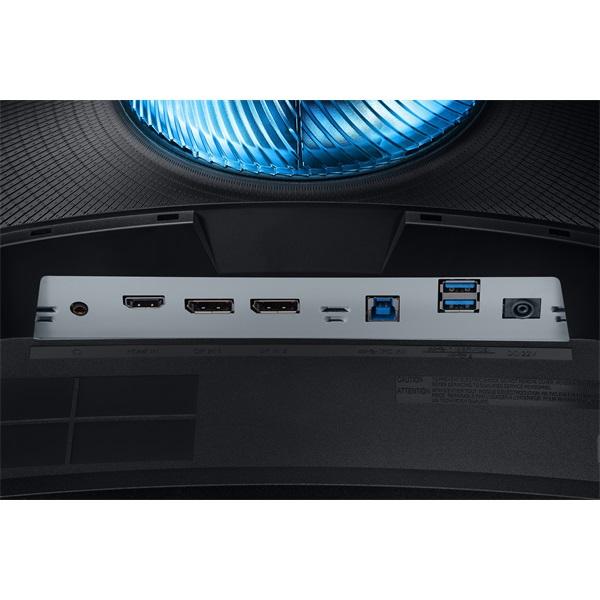 Samsung 26,9 C27G75TQSR QLED WQHD HDMI 2Display port 240Hz ívelt kijelzős monitor - 6