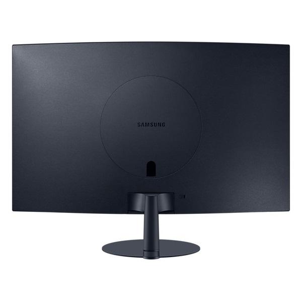 Samsung 27 C27T550FDR LED HDMI Display port ívelt kijelzős kékes sötétszürke monitor - 2