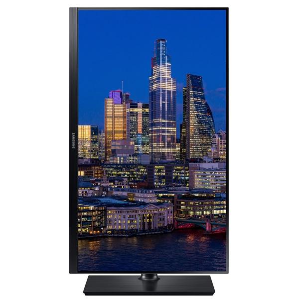 Samsung 27 F27T850QWR LED PLS HDMI fekete monitor - 9