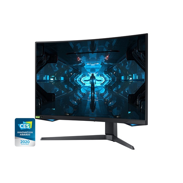 Samsung 31,5 C32G75TQSR QLED WQHD HDMI 2Display port 240Hz ívelt kijelzős monitor - 3