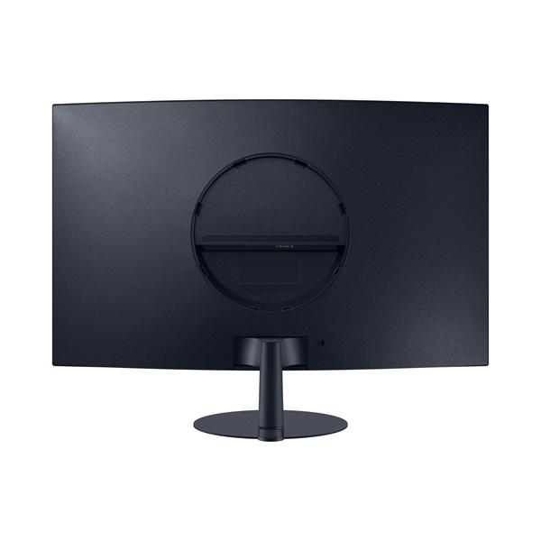 Samsung 31,5 C32T550FDR LED HDMI Display port ívelt kijelzős kékes sötétszürke monitor - 3