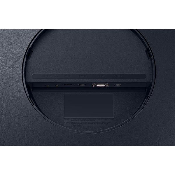 Samsung 31,5 C32T550FDR LED HDMI Display port ívelt kijelzős kékes sötétszürke monitor - 7