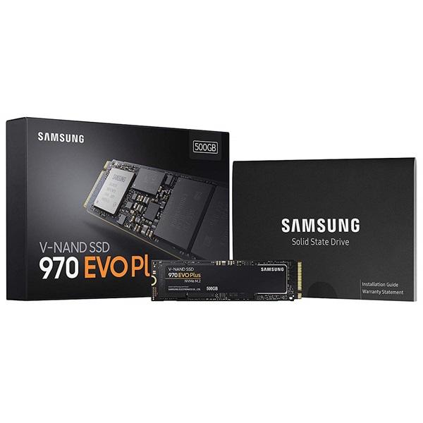 Samsung 500GB NVMe 1.3 M.2 2280 970 EVO Plus (MZ-V7S500BW) SSD - 4