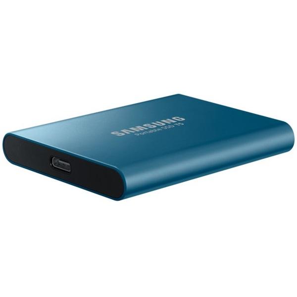 Samsung 500GB USB 3.1 (MU-PA500B/EU) kék T5 külső SSD - 2