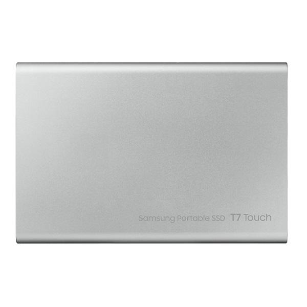Samsung 500GB USB 3.2 (MU-PC500S/WW) ezüst ujjlenyomatolvasós T7 Touch külső SSD - 2