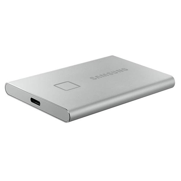 Samsung 500GB USB 3.2 (MU-PC500S/WW) ezüst ujjlenyomatolvasós T7 Touch külső SSD - 3