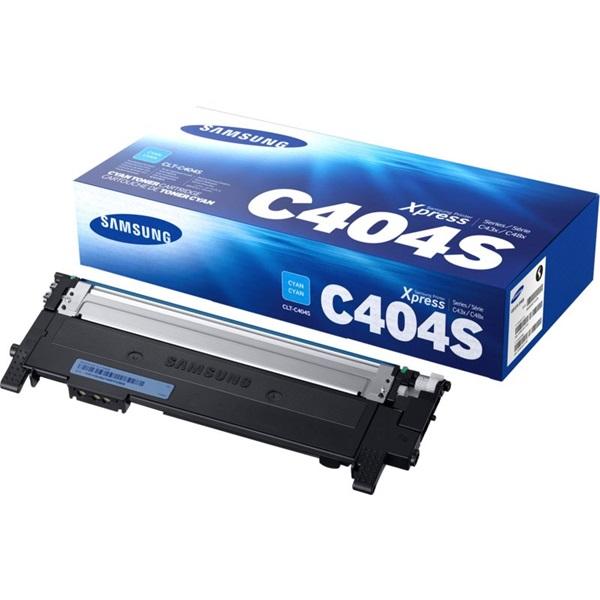 Samsung CLT-C404S cián toner - 1