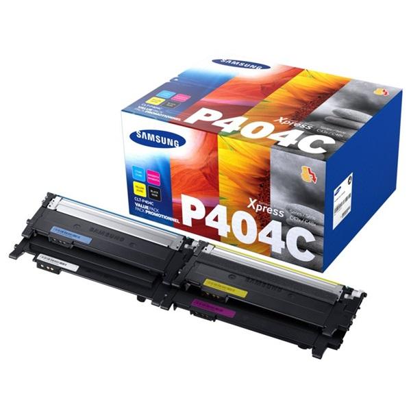 Samsung CLT-P404C  fekete/cián/magenta/sárga toner csomag - 1