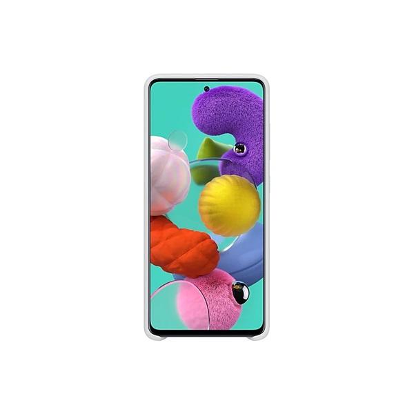 Samsung EF-PA515TWEG Galaxy A51 fehér szilikon hátlap - 1