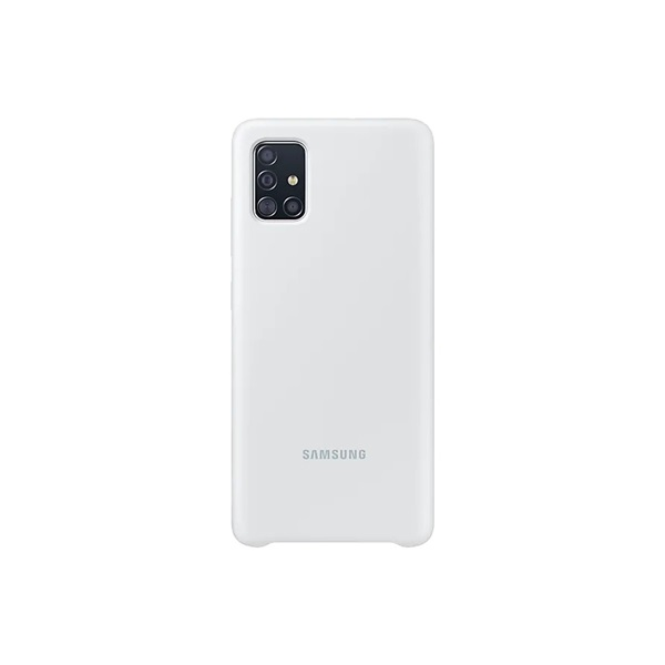 Samsung EF-PA515TWEG Galaxy A51 fehér szilikon hátlap - 2