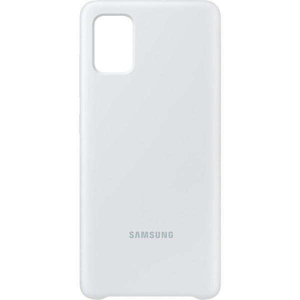 Samsung EF-PA515TWEG Galaxy A51 fehér szilikon hátlap - 3