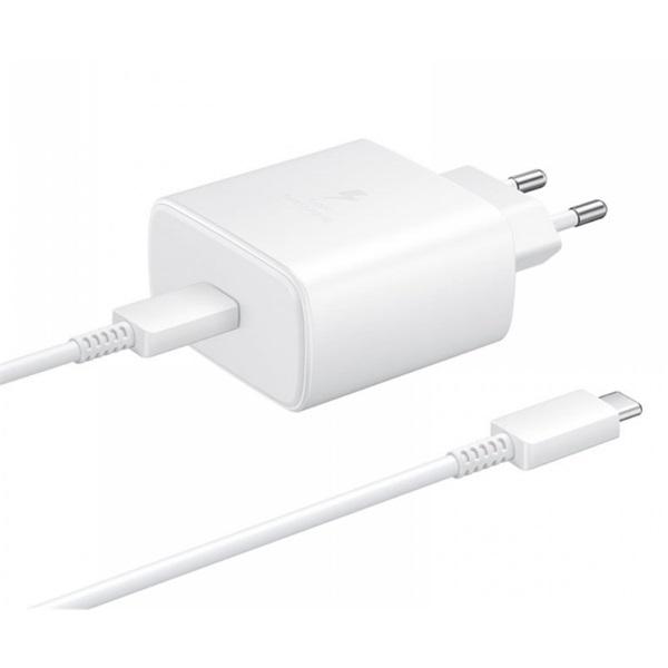 Samsung EP-TA845XWEG 45W USB Type-C fehér hálózati töltő - 1