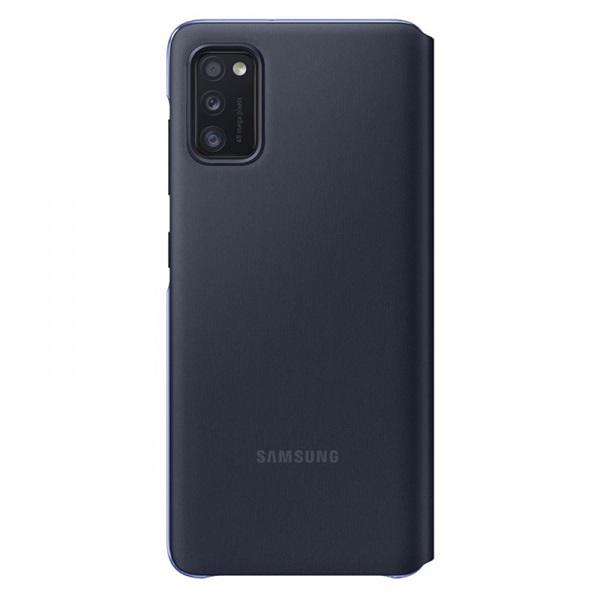 Samsung OSAM-EF-EA415PBEG Galaxy A41 s-view wallet cover fekete védőtok - 2