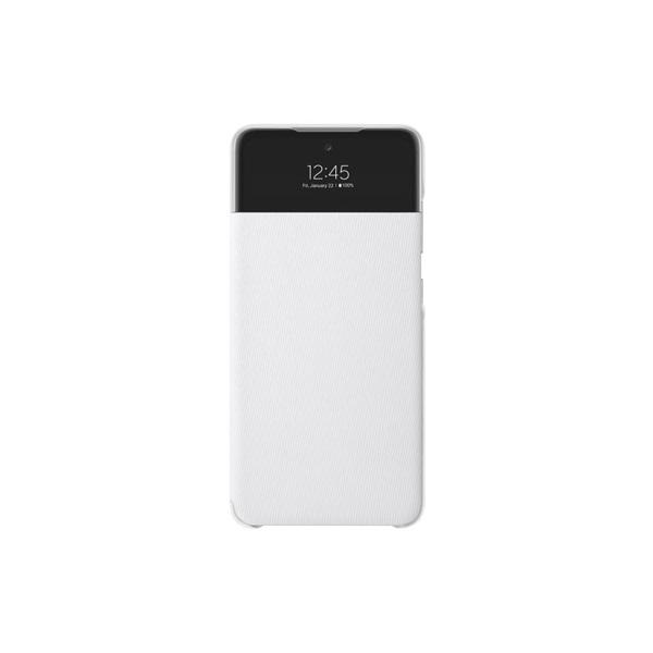 Samsung OSAM-EF-EA525PWEG Galaxy A52 s-view fehér oldalra nyíló tok - 1