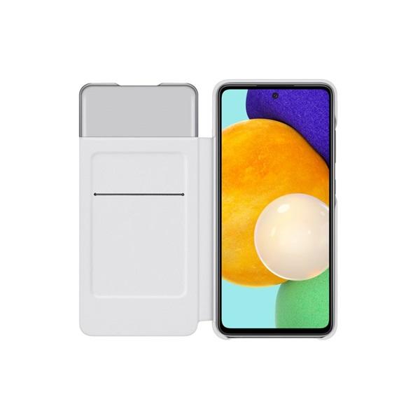 Samsung OSAM-EF-EA525PWEG Galaxy A52 s-view fehér oldalra nyíló tok - 3