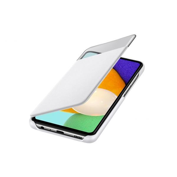 Samsung OSAM-EF-EA525PWEG Galaxy A52 s-view fehér oldalra nyíló tok - 4