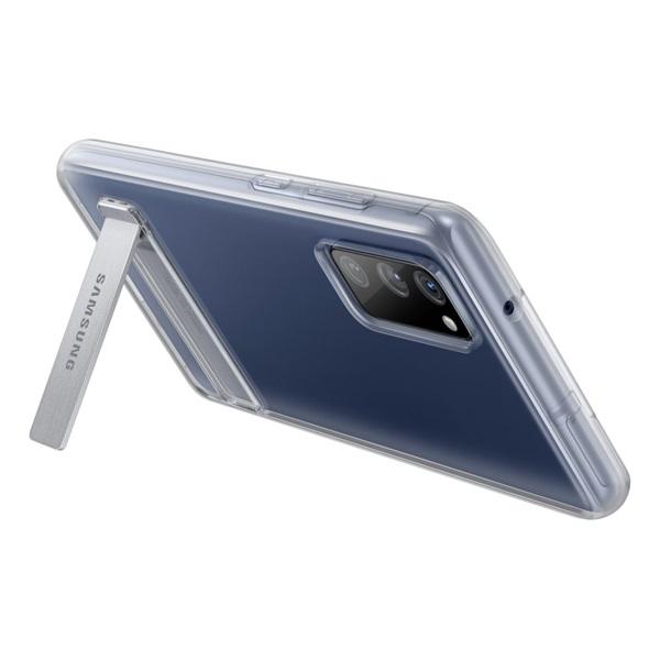 Samsung OSAM-EF-JG780CTEG Galaxy S20 FE clear stand cover átlátszó tok - 4