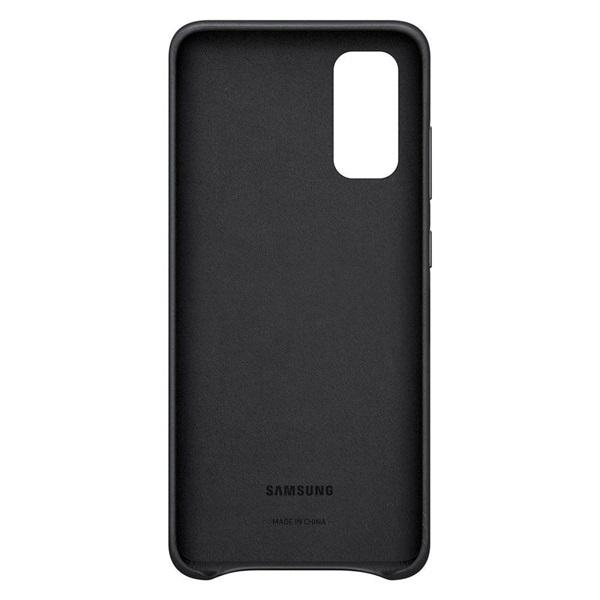 Samsung OSAM-EF-PA415TBEG Galaxy A41 fekete szilikon védőtok - 2