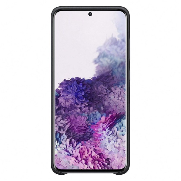 Samsung OSAM-EF-PA415TBEG Galaxy A41 fekete szilikon védőtok - 3