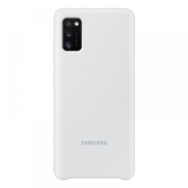 Samsung OSAM-EF-PA415TWEG Galaxy A41 fehér szilikon védőtok - 1