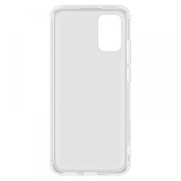 Samsung OSAM-EF-QA026TTEG Galaxy A02S átlátszó oldalra nyíló tok - 4