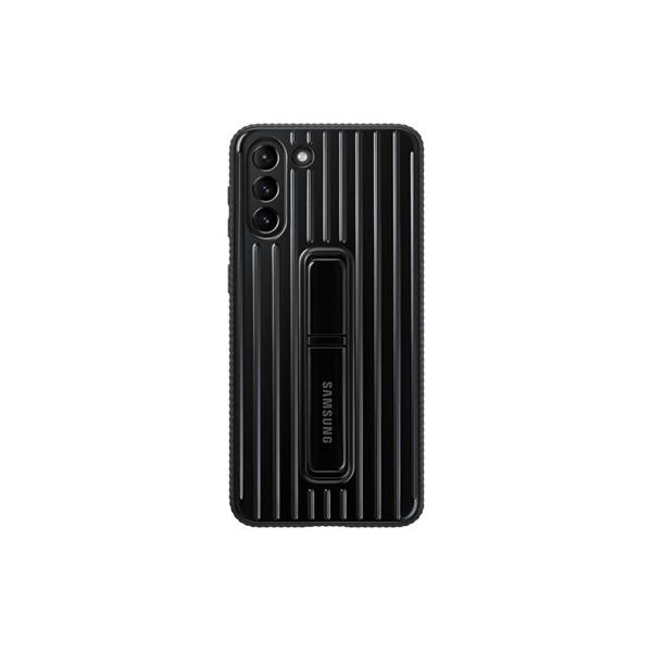 Samsung OSAM-EF-RG996CBEG Galaxy S21 Plus protective stand fekete tok - 1
