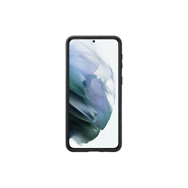 Samsung OSAM-EF-RG996CBEG Galaxy S21 Plus protective stand fekete tok - 2