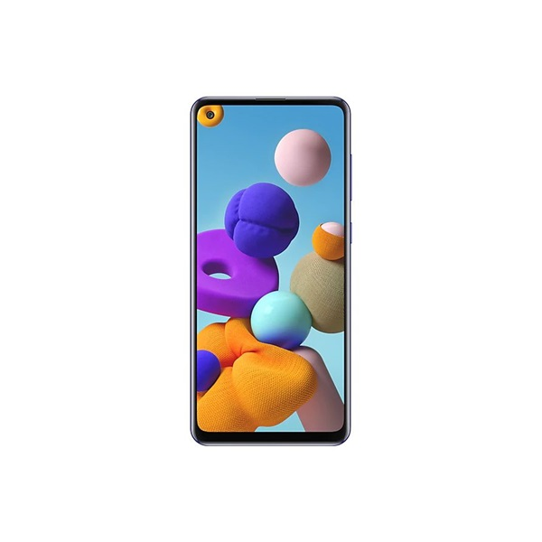 Samsung SM-A217F/DS Galaxy A21s 6,5 LTE 3/32GB DualSIM kék okostelefon - 1