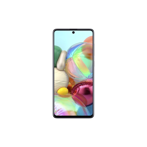 Samsung SM-A715F A71 6,7 LTE 6/128GB Dual SIM ezüst okostelefon - 1